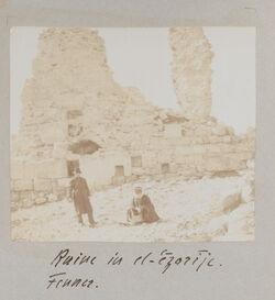 Fotoalbum Ruine von el-