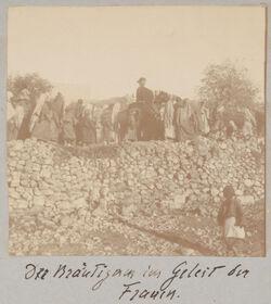 Fotoalbum Bräutigam im Geleit der Frauen [el bire].