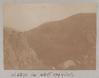 Fotoalbum el-hute im wadi es-swenit [Nachal Michmas].