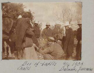 Fotoalbum Bei et-tafile 4/4 1906 Chalil Dalman, Jeremias