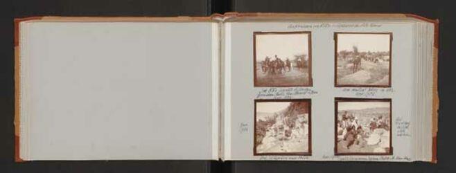 Fotoalbum Aufnahmen von Ritter v. Zepharovich, östl. Konsul