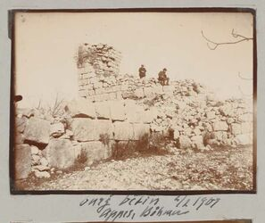 Fotoalbum Burg betin [Bethel] 3/2 1907 Appel, Böhmer