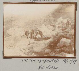 Fotoalbum bei en es-suwenit 16/2 1907 Frl. Littau [?]
