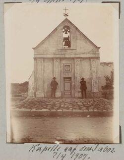 Fotoalbum Kappelle auf dem Tabor. 7/4 1907.