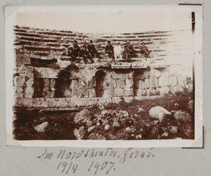 Fotoalbum Im Nordtheater, Geras [dscherasch, djerasch, gerasa]. 19/4 1907.