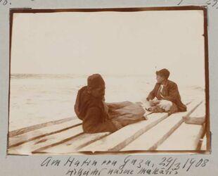 Fotoalbum Am Hafen von Gaza, vielleicht unsere Makaris 29/3 1908