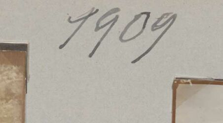GDIs01771; Fotoalbum; 1909, Album Gustaf Dalman, 1906-10, Rückseite Blatt 22, Vorderseite Blatt 23 [GDIs01772- GDIs01775]