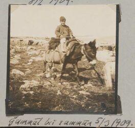 Fotoalbum Gammal [dschammal, djammal] bei rammun 5/3 1909.
