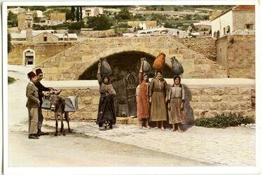Postkarte Nazareth. Mary