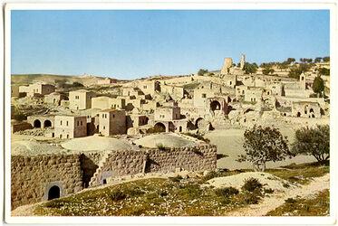 Postkarte Bethanien von Nordost