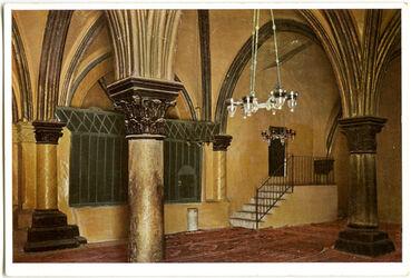 Postkarte Jerusalem. Coenaculum. Le Cénacle. Der Abendmahlsaal