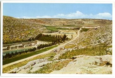 Postkarte Salomoteiche bei Bethlehem