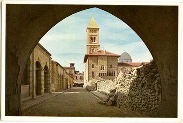 Postkarte Jerusalem. Erlöserkirche
