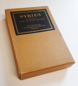 Schuber Syrien. 42 Ansichten in Naturfarbenphotographie