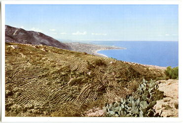 Postkarte Die Bucht von Dschunieh