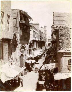 Fotografie Rue Mourad Pacha [wohl Kairo]