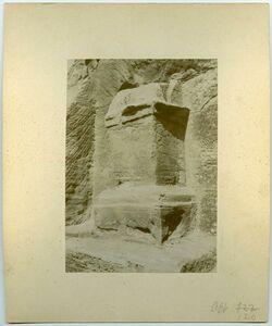 Fotografie Altar bei el farase [Petra]
