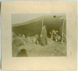 Fotografie Gastraum im Bed.zelt bei elkerak [Al-Karak]