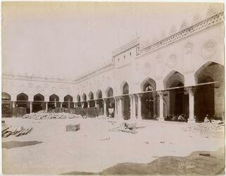 Fotografie Mosquée El-Azhar cour [?] [Kairo]