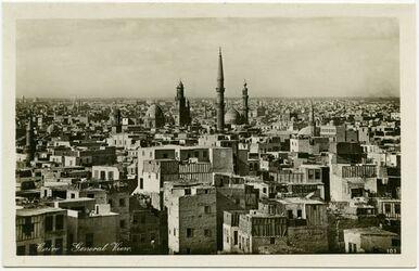 Postkarte Cairo [Kairo] - General View