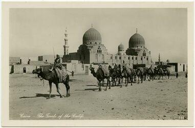 Postkarte Cairo [Kairo] - The Tombs of the Califs.