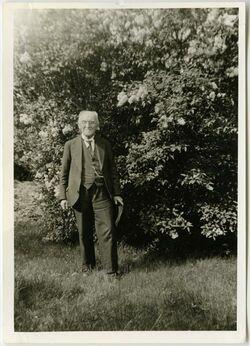 Fotografie Gustaf Dalman, 80 J.