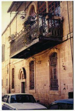 GDIs02149; Fotografie; Äthiop. Str. 5. [Jerusalem]. Sitz des Institus + Dalmans Wohnung. 1902-1921, aus dem Nachlass Julia Männchen