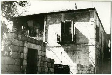 GDIs02161; Fotografie; [Jerusalem, Äthiopische Straße 5, ehemaliges Palästinainstitut], aus dem Nachlass Julia Männchen