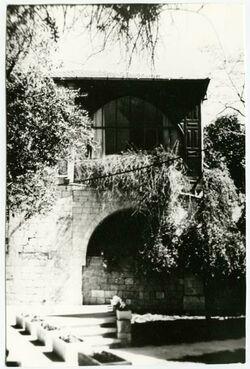 GDIs02162; Fotografie; [Jerusalem, Äthiopische Straße 5, ehemaliges Palästinainstitut], aus dem Nachlass Julia Männchen