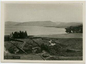 Postkarte Bethsaida (Tabga) [Et-tell]