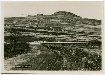 Postkarte Horns of Hattin [Berg der Seligpreisungen]