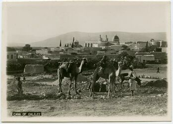 Postkarte Cana of Galilee [Kanaan?]