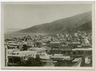 Postkarte Tiberias