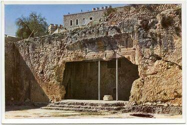 Postkarte Jerusalem.The Kings