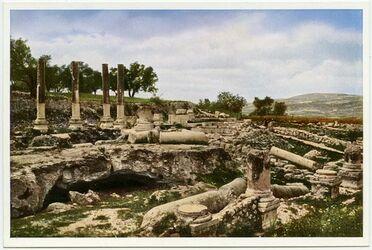 Postkarte Samaria [Sebastie]