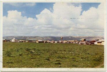 Postkarte The jewish Colony Afule. La Colonie juive Afoulé. Die jüdische Kolonie Afule
