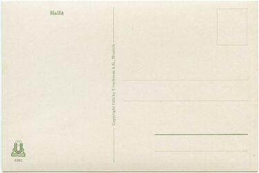 GDIs02315; Postkarte; Haifa, Bestand von rund 60, teils losen, teils zu Lieferungen zusammengefassten Farbpostkarten [GDIs02249-2317]