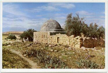 Postkarte The tomb of Jacob