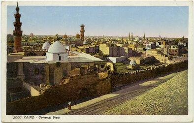 Postkarte Cairo [Kario] - General View