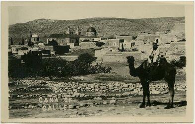 Postkarte Cana of Galilee