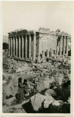 Postkarte [Ruine]