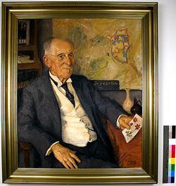 Gustaf Dalman im Alter von 80 Jahren Gustaf Dalman im Alter von 80 Jahren
