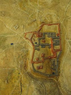 Relief-Jerusalemkarte