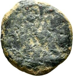 Münze Münze, wohl erster jüdischer Aufstand