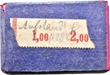 GDI00319; Münze; in Streichholzschachtel (