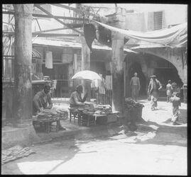 Glasplattendia Jaffa, Brotverkäufer