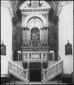 Glasplattendia Eliasgrotte im Kloster auf Karmel