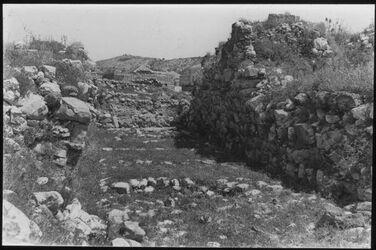 Glasplattendia Byblos: Stadttor aus kanaanäischer Zeit