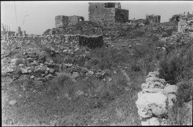 Glasplattendia Kreuzfahrerturm bei Byblos