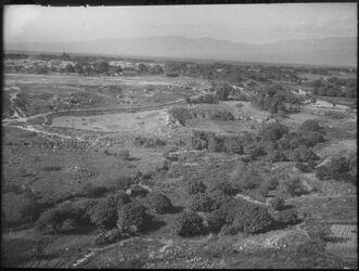 Glasplattendia Theater von Skythopolis a. besan v. tell el hosn im N.